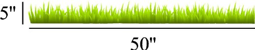 Grass Repositional And Removable Wall Decal Beautiful Deco Art Cute Sticker Murals front-544178