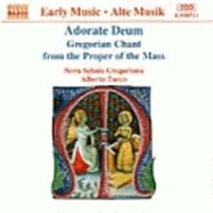 Adorate Deum - Gregorian Chant Mass Propers [MINIDISC]