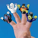 12 Halloween Monster Finger Puppets