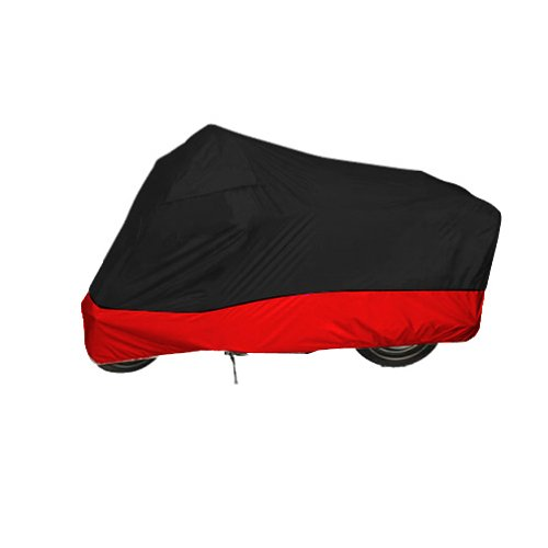 Black - Red Motorcycle Cover For BMW R1150RS R1150RT motorcycle cover L for yamahyzf r25 yzf r25 motorcycle accessories triple tree stem yoke fork caps cover red