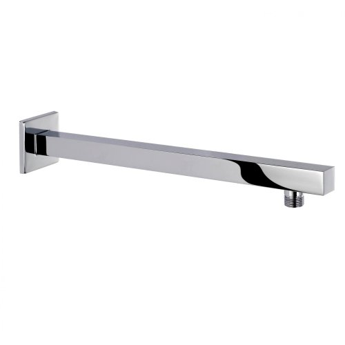 400mm Wall Mounted Shower Arm - Square