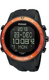Pulsar Sport Digital Black Dial Men's Watch #PQ2017