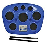 Singing Machine SMI-1321B Electronic Drum Pad - Blue