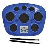 Singing Machine SMI-1321B Electronic Drum Pad - Blue
