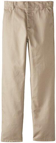 Genuine Big Boys' Flat Front Pants(Pack of 2)