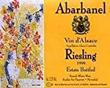 Abarbanel Riesling Estate Bottled 750ML 2009
