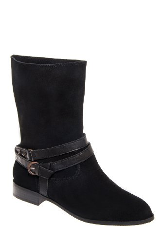 Business As Usual Low Heel Mid Calf Boot