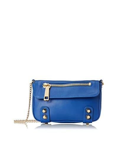 Linea Pelle Collection Women's Lady Dylan Cross-Body, Cobalt