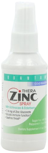 Quantum Health, Therazinc Spray, 4 Ounces (Pack Of 3)