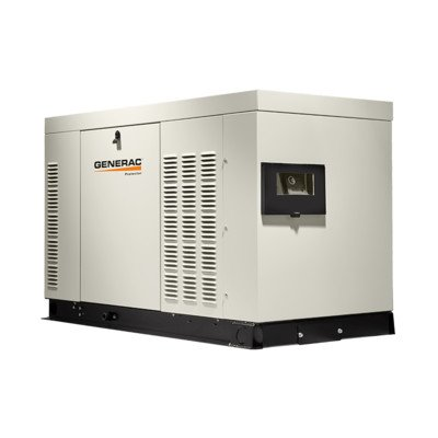 Generac RG02515ANAXA Protector Series, 25kW Liquid Cooled Standby Generator, Diesel Powered, Single Phase, Aluminum Enclosed