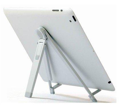 Kitchen Top Foldable Aluminium Alloy Desktop Stand Holder Cradle for iPad 3 ,Mini ipad, ipad 4 with retina display