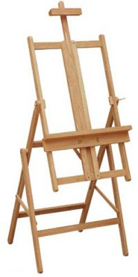 Jacksons Academy Easel: Water Colour Easel in Beechwood, tilts to horizontal