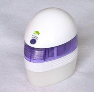 P&l™ Mini USB Humidifier and Aromatherapy Diffuser / White and Blue Aroma Diffuser - 250ml Water Container Capacity (purple)