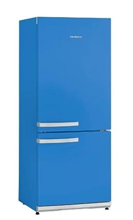 Severin KS 9898 Kühl-Gefrier-Kombi / A++ / 164 kWh/Jahr / 54 Liter Gefrierteil / 173 Liter Kühlteil / pacific blue