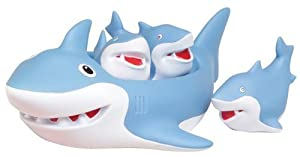 Shark Family Bath Toy - Floating Fun!