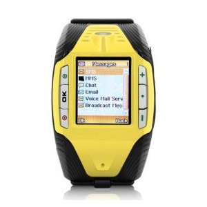 F3 Sports - 1.33 Inch Watch mobile Phone (Tri-Band Bluetooth MP3 Mp4 Player)
