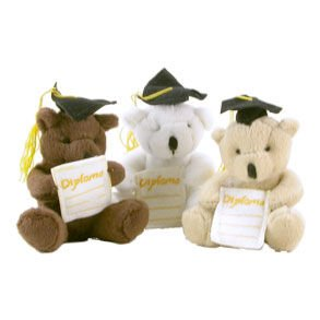 4&#8243; Graduation Bear
