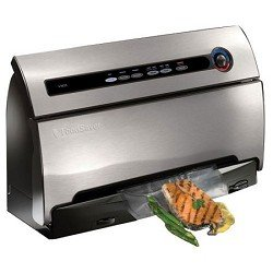 FoodSaver V3835 Vacuum Food Sealer with SmartSeal Technology, Silver/Black by FoodSaver