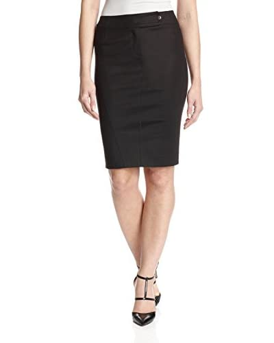 Byron Lars Women's Control Top Pencil Skirt  [mascara]