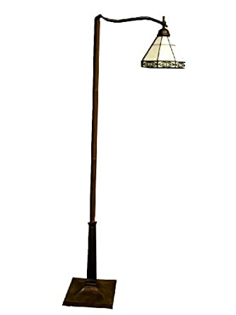 Tiffany-style Mission Reading Floor Lamp - - Amazon.