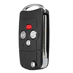 Uncut Blade Remote Key Fold Case 4 Button Flip Key Shell for TOYOTA Camry