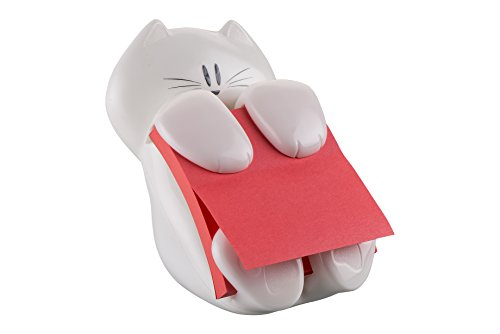 post-it-cat-330-super-sticky-z-notes-spender-in-katzen-form-inkl-1-block-post-it-super-sticky-z-note