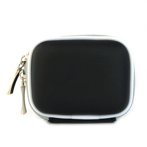 Black Premium Universal Bluetooth Headset Pouch Carrying Case For Jabra Bt125 Bt135 Bt160 Bt185 Bt2040 Bt3010 Bt350 Bt5010, Nokia Bh-900 Bh-803 Bh-800 Bh-703 Bh-700 Bh-602 Bh-302 Bh-211 Bh-202 Bh-208 Bh-201 Hs-26W, Blueant Z9 Z9I X3 V1 V12, Samsung Wep700