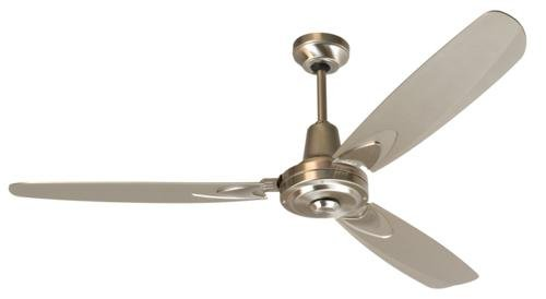 Craftmade Fans Ve58Ss Velocity Collection 58-Inch Blade Finish And Wall Control Ceiling Fan With Stainless Steel Motor