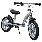 Hudora Steel Cruiser Balance Bike (Silver)by Hudora