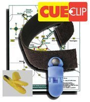 Review Cue Clip Map and Cue Sheet Holder