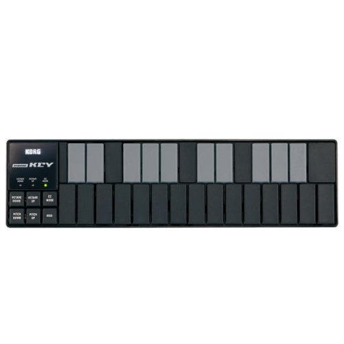 KORG SLIM-LINE USB KEYBOARD nanoKEY BLACK