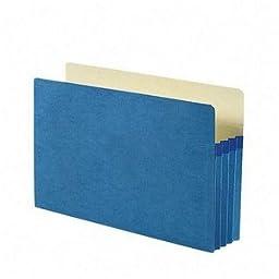 SMD74225 - Smead 74225 Blue Colored File Pockets