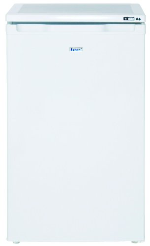 Lec U5010W 50cm undercounter freezer, A+ energy rating, 79ltr capacity, white
