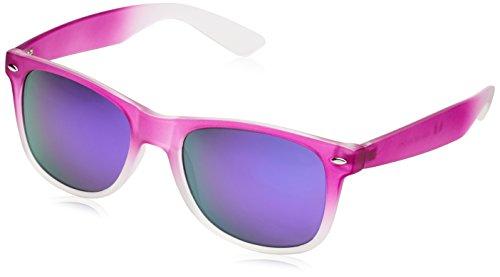 MSTRDS Likoma Fade Mirror, Occhiali da Sole Unisex-Adulto, Violett (Purple/Purple 4547), Taglia Unica