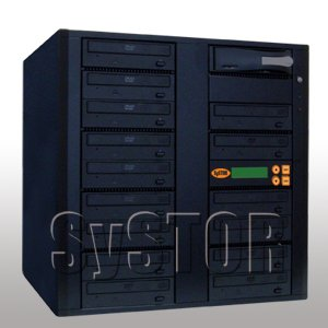 15 Burner Blu-Ray DVD/CD 10x SATA Duplicator + 500GB HDD + USB Connection