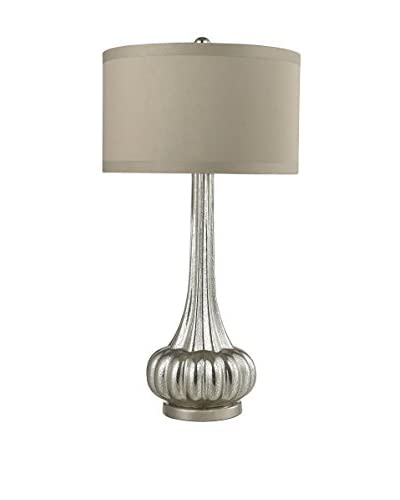 Artistic Lighting 1-Light Table Lamp, Antique Mercury/Polished Chrome