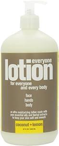 Everyone Lotion, Coconut plus Lemon, 32 Fluid Ounce -1 each