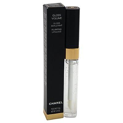 Chanel Women's Gloss Volume Plumping Lip Gloss, Clear, 0.19 Ounce
