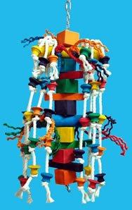 Cheap Zoo Max DUS170M Spin Fun Medium Bird Toy 27in (845-30170)