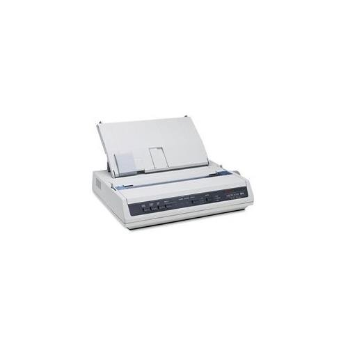 Okidata Oki Microline 186 Serial Dot Matrix Printer 9-Pin - 375 Cps Mono - 240 X 216 Dpi - Serial, Usb - 120V - Ibm Dos Win Linux - Beige 62422401