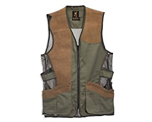 Browning Santa Fe Pro Vest, Sage Oak, X-Large-Tall by Browning