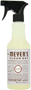Mrs. Meyer's Clean Day Counter Top Spray, Lavender, 16-Ounce Bottles (Case of 6)