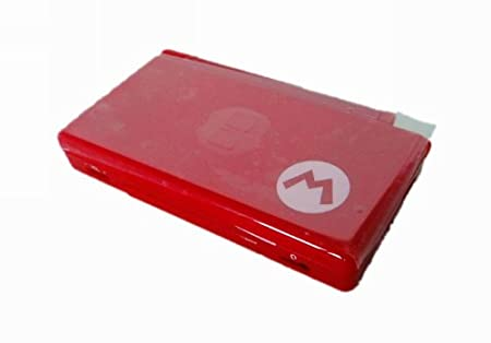 Full Housing Case Shell Replacement for Nintendo DS Lite NDSL Red Mario