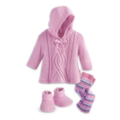 American Girl Bitty Baby - Snuggly Sweater Outfit for dolls - Bitty Baby 2015