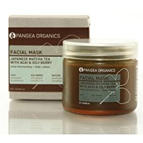 Pangea Organics Japanese Matcha Tea with Acai & Goji Berry Facial Mask