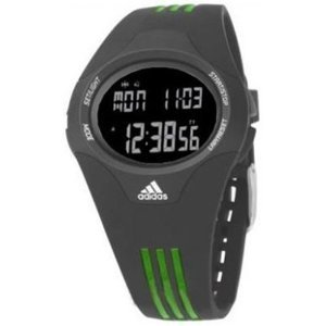 Adidas Women's ADP6025 Grey Polyurethane Quartz Watch with Digital Dial
