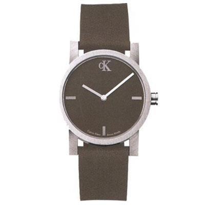 Calvin Klein watch K7111.65 Unisex Quartz Analog Brown