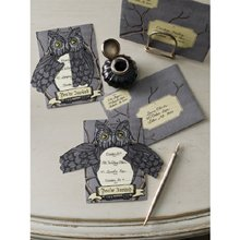 Martha Stewart Crafts Elegant Witch Owl Invitations