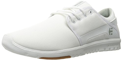 Etnies Men's Scout Skateboarding Shoe, White/Gum, 11 M US