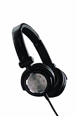 Denon DJ DN-HP500 | Comfortable Full-Size Supra-Aural On-Ear Dynamic DJ Headphones (Black / 40mm / 1300 mW)